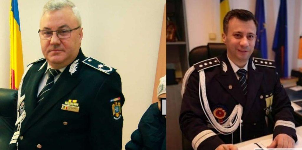 Șefii Poliției Bacău, demiși după eșecul negocierii de la Onești, promovați pe alte funcții