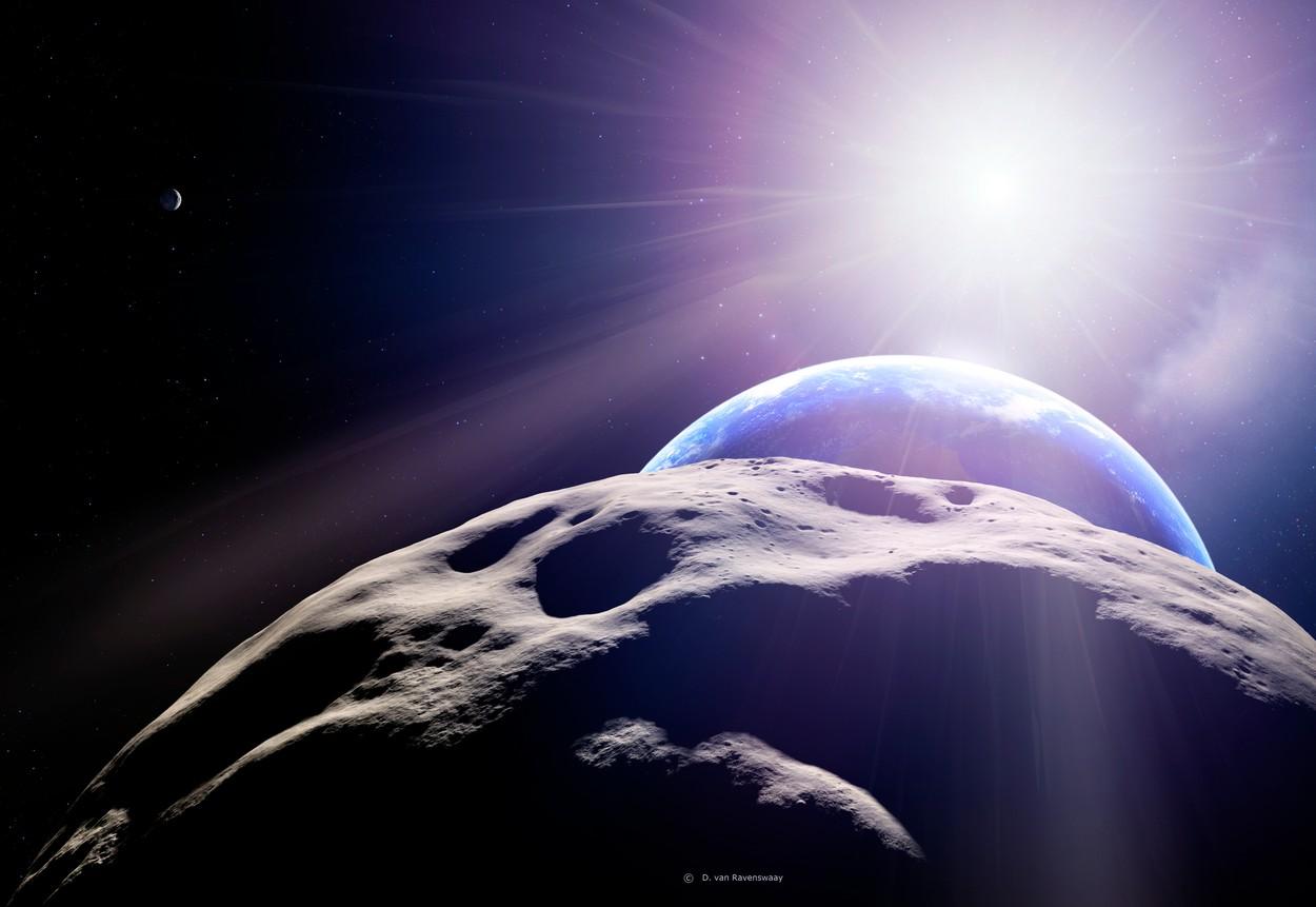 Un asteroid de dimensiunea Marii Piramide din Giza va zbura pe lângă Pământ. Când va avea loc evenimentul astronomic