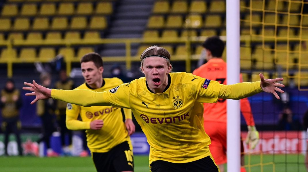 Erling Haaland Dortmund fotbal