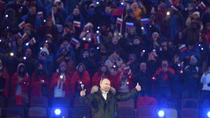 Vladimir Putin aniversare anexarea Crimeei