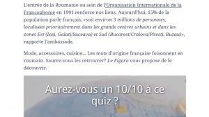 Publicația franceză Le Figaro le propune cititorilor un quiz despre limba română. La ce întrebări trebuie să răspundă