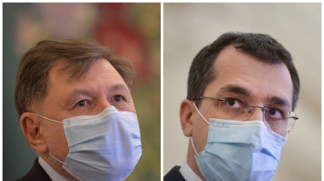 """Vlad Voiculescu, ironizat de Alexandru Rafila: """"Dacă luăm o foaie A4, nu știu dacă reușim să umplem o treime cu ce a făcut legat de pandemie"""""""