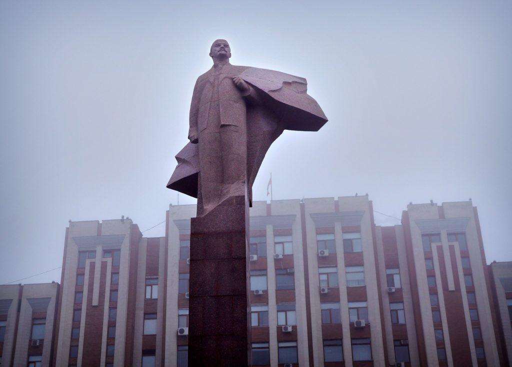 Statuie care comemorează războiul din Transnistria