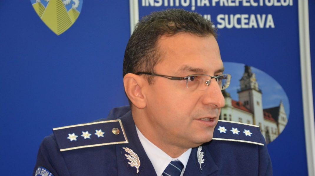 Poliția Bacău are o conducere nouă, după crima din Onești. Comisarul șef Toader Buliga a preluat șefia