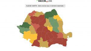 Cum poți afla ce tip de vaccin e disponibil în fiecare centru de vaccinare din România