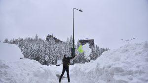 Zăpadă Poiana Brașov