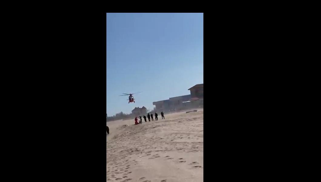 VIDEO. Un scafandru și un geolog s-au înecat în timp ce supravegheau lucrările de extindere a plajei din Eforie Nord