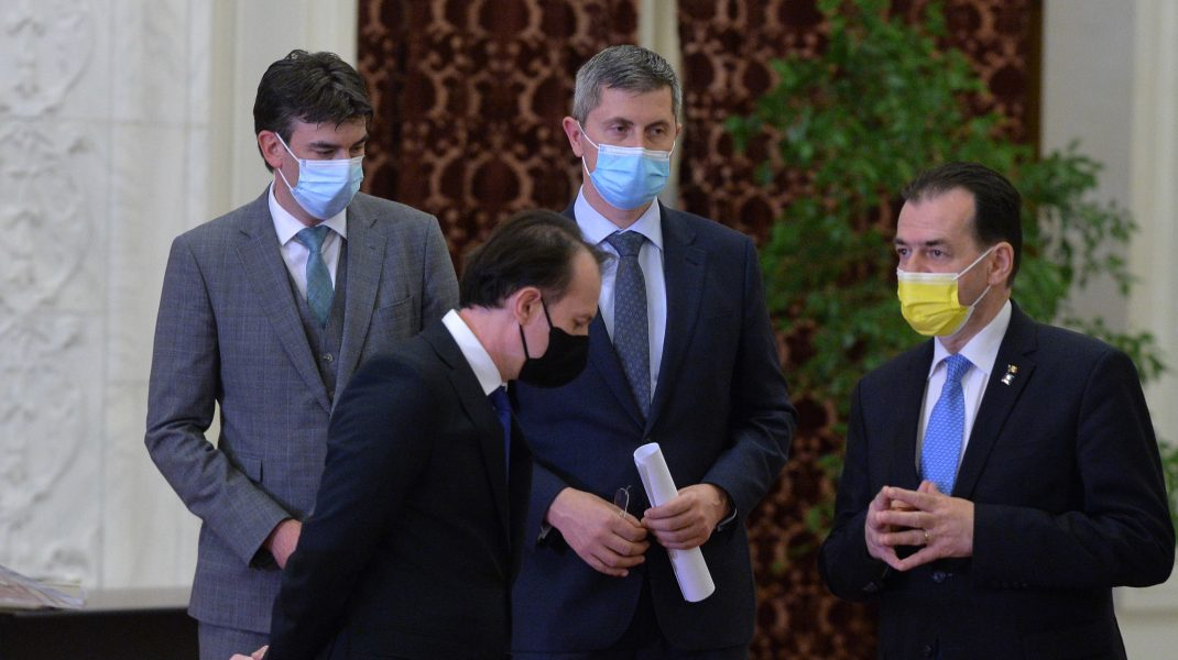 Coaliția de guvernare a ajuns la un consens. A fost semnat un acord adițional. Cîțu: De mâine vom avea un ministru al Sănătății