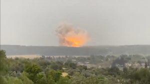 VIDEO. Explozie suspectă într-un complex militar din Israel. Care ar putea fi cauza deflagrației