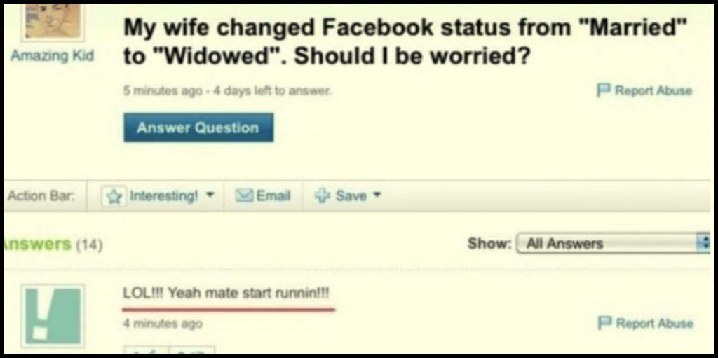 Status de Facebook schimbat