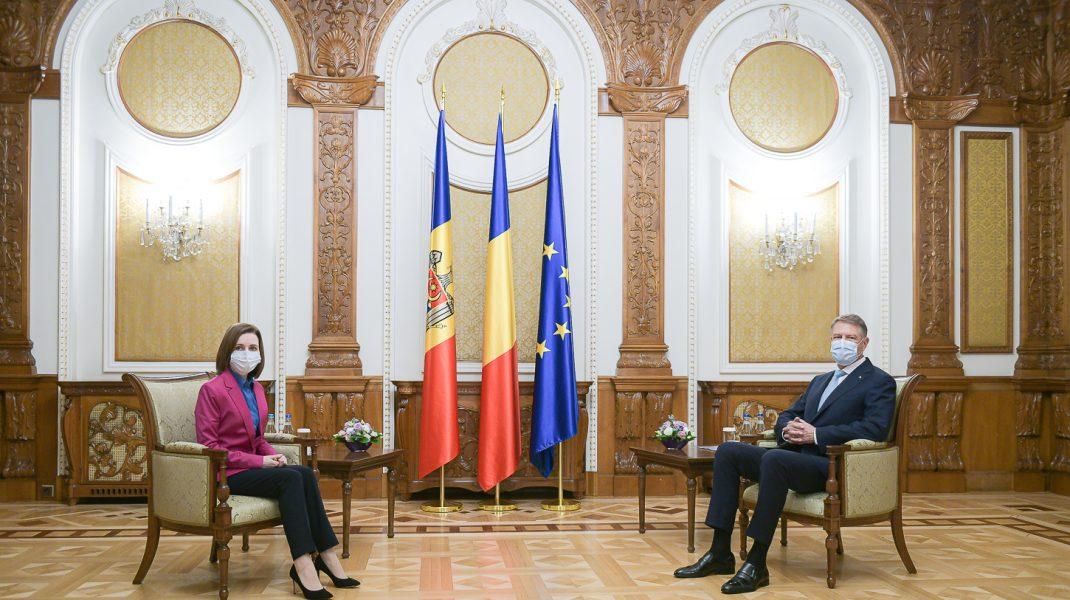 Klaus Iohannis întâlnire cu Maia Sandu, la Cotroceni. România continuă să sprijine Republica Moldova