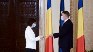 Noul ministru al Sănătății, Ioana Mihăilă, a depus jurământul. Iohannis: Vă doresc să vă integrați în echipa guvernamentală