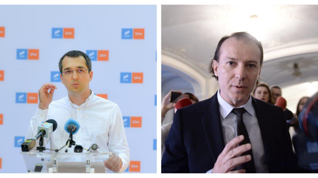 Cîțu, replică pentru Voiculescu, despre raportarea deceselor: Dacă a știut, cu ce soluții a venit?