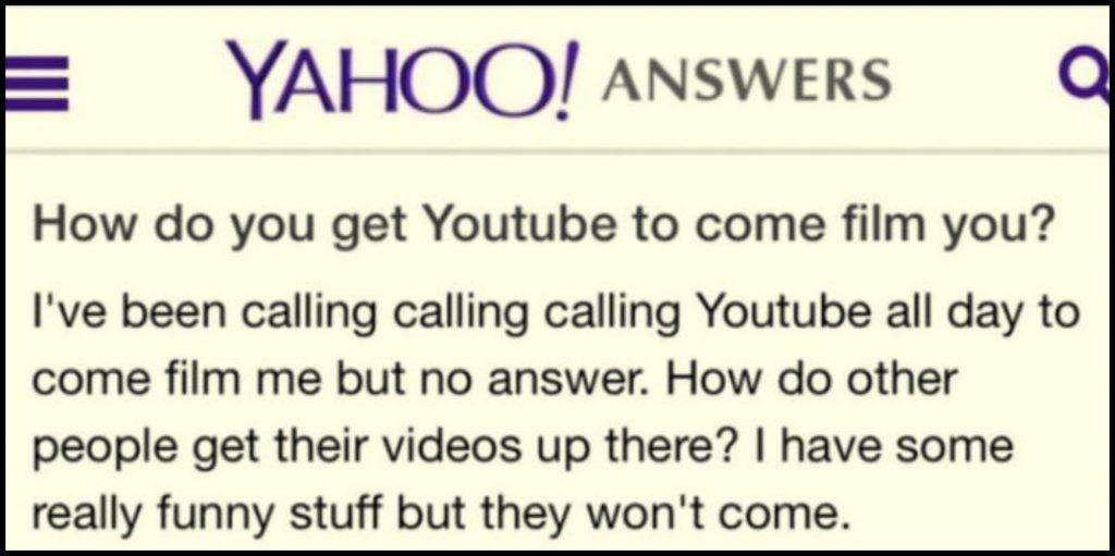 Întrebare pe Yahoo Answers
