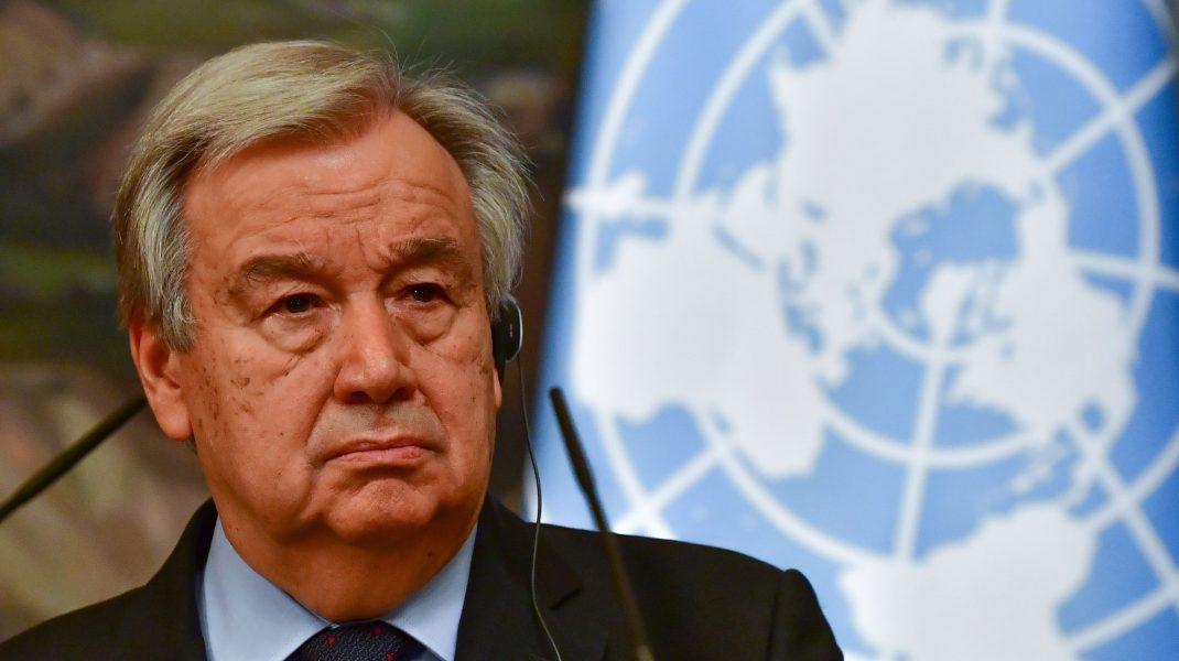 Antonio Guterres, secretarul general ONU.