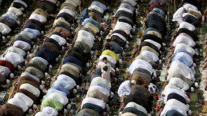"""Islamul celebrează finalul Ramadanului. Lumea musulmană s-a adunat la Marea Moschee """"Ayasofya"""""""