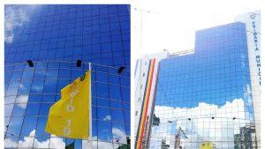 Primul oraş din ţară în care incidenţa cazurilor de Covid va fi marcată printr-un steag arborat în faţa Primăriei