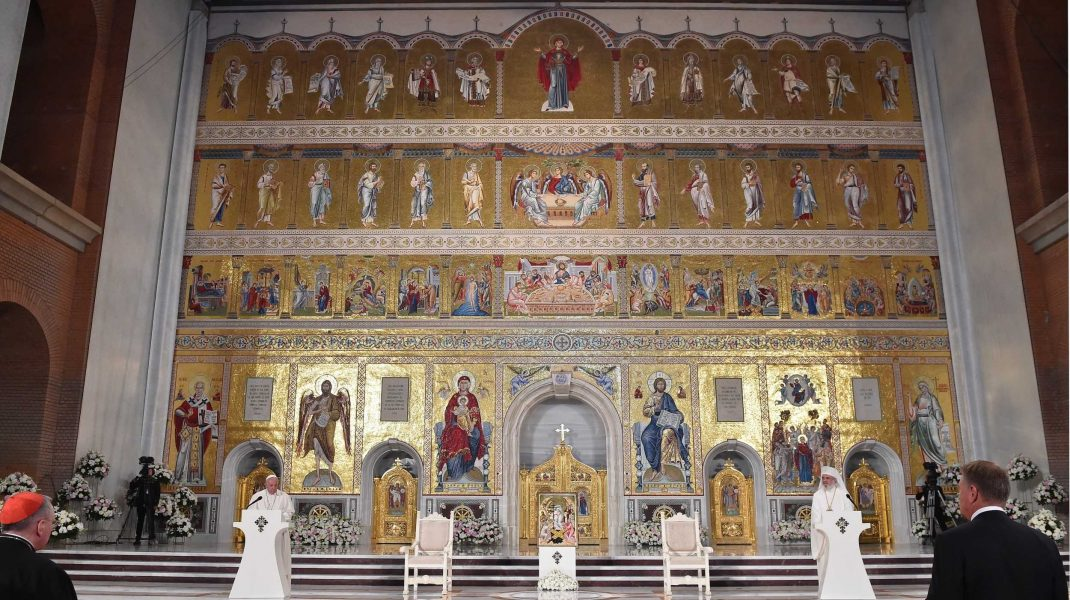 Record mondial: Catedrala Mântuirii Neamului are cel mai mare iconostas ortodox din lume