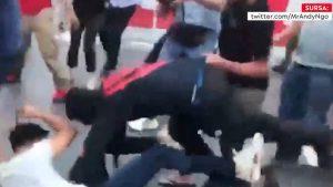 Militanții pro-Hamas și cei pro-israelieni s-au luat la bătaie în Times Square din New York, la două ore după intrarea în vigoare a armistițiului. VIDEO