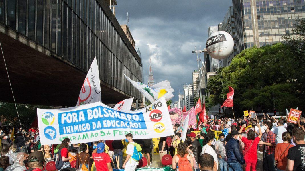 protest Brazilia