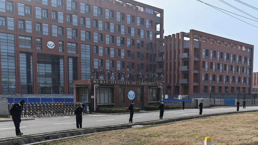 Institutul de virusologie din Wuhan.