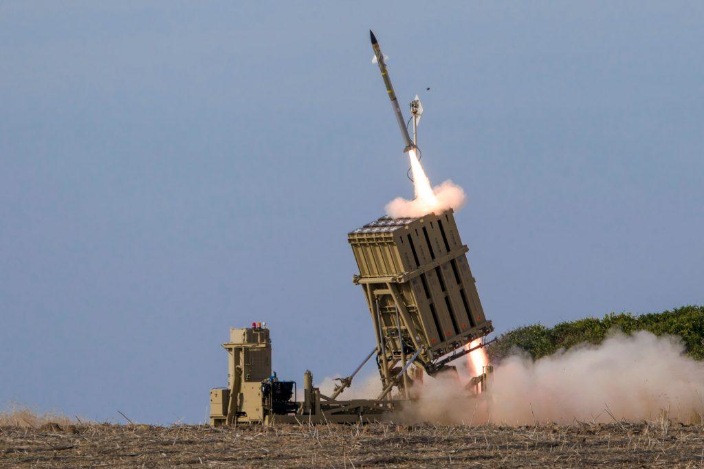 Sistemul de apărare din Israel, Iron Dome.