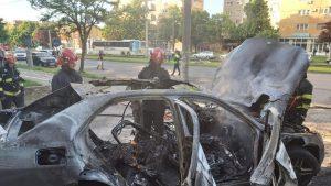 mașină carbonizată Arad