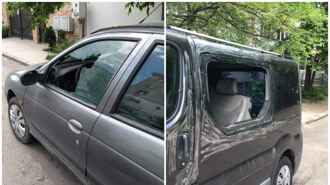 Mașini sparte de hoți în Galați.