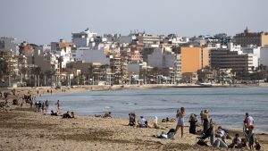 plaja din Spania