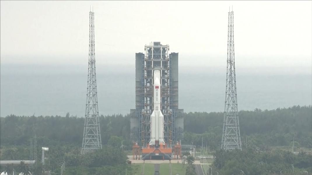 Racheta Long March 5B a fost lansată de China la finalul lunii aprilie.