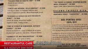 Ziua Dorului. Povestea românului pe care dorul de țară l-a întors acasă. Meniul inedit pe care îl are restaurantul său