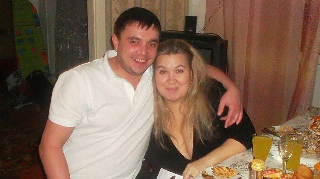 Rusoaica alături de soțul ei.