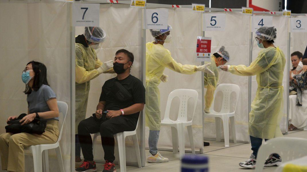 testare COVID Singapore
