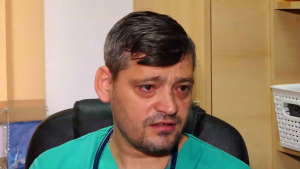 Valentin Perduș, medic ATI care a fost abandonat când era mic.