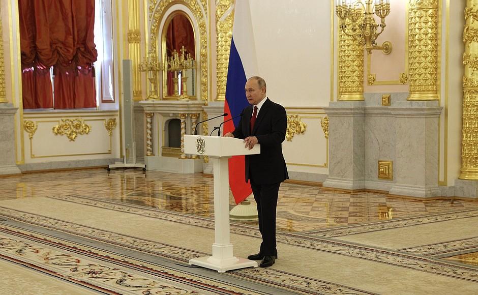 vladimir putin la kremlin, la primirea ambasadorului roman la moscova.