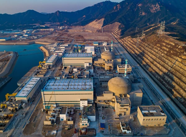 Centrala nucleară Taishan, din China.