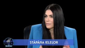 """Alexandra Paven, invitata lui Marius Tucă în emisiunea """"Marius Tucă Show""""."""