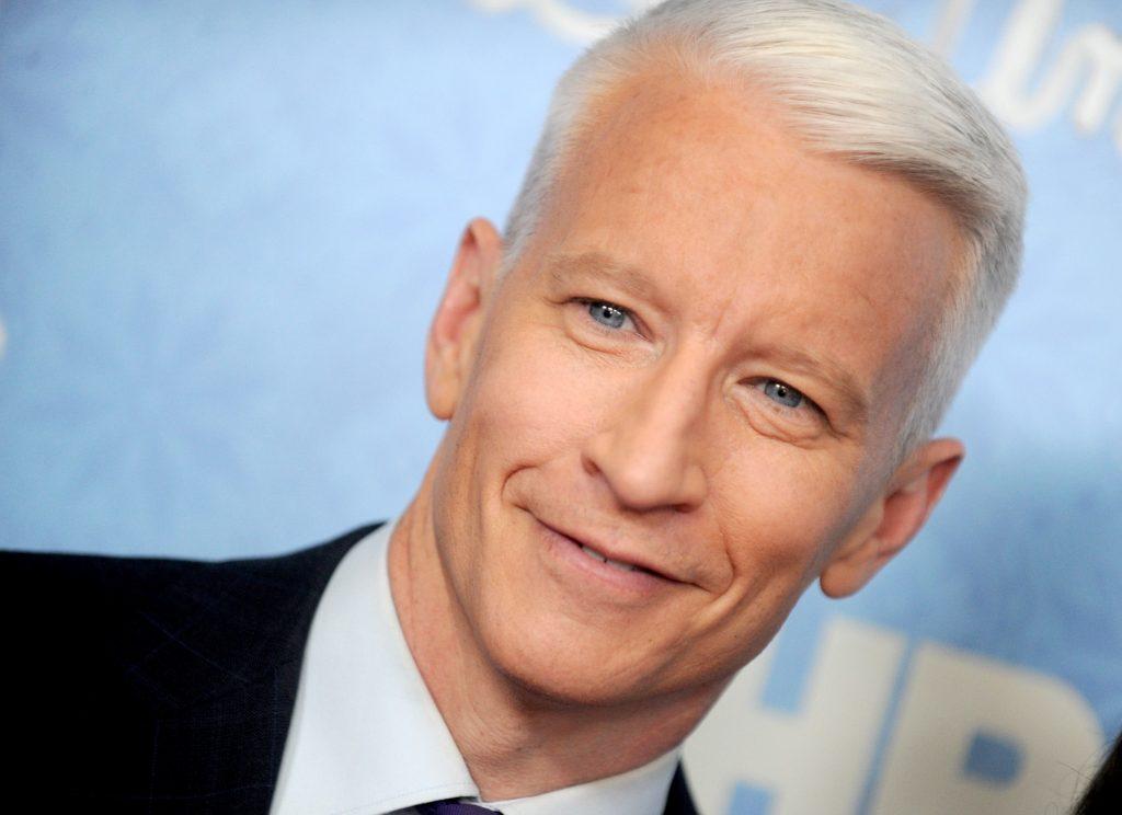 Anderson Cooper, vedetă a postului de televiziune CNN.