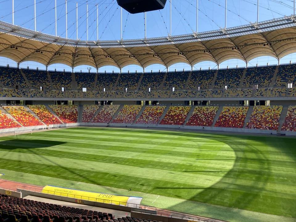 arena nationala pregatita pentru euro 2020.