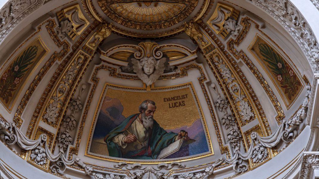 Frescă din biserică.