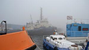 Porturile Constanţa Nord, Constanţa Sud-Agigea şi Midia, închise din cauza ceții