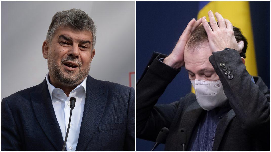 Liderul PSD, Marcel Ciolacu, îi critică pe liberli pentru organizarea congresului în plină pandemie.