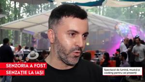 DJ la un festival în Iași.