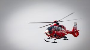 elicopter smurd in zbor.