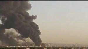 Explozie urmată de incendiu, la o rafinărie situată în apropiere de Teheran. VIDEO