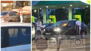 Atac cu maceta și crosa de golf în traficul din București. Foto: Sindicatul Europol
