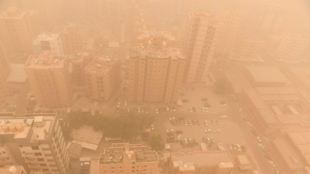 furtună de praf Kuweit
