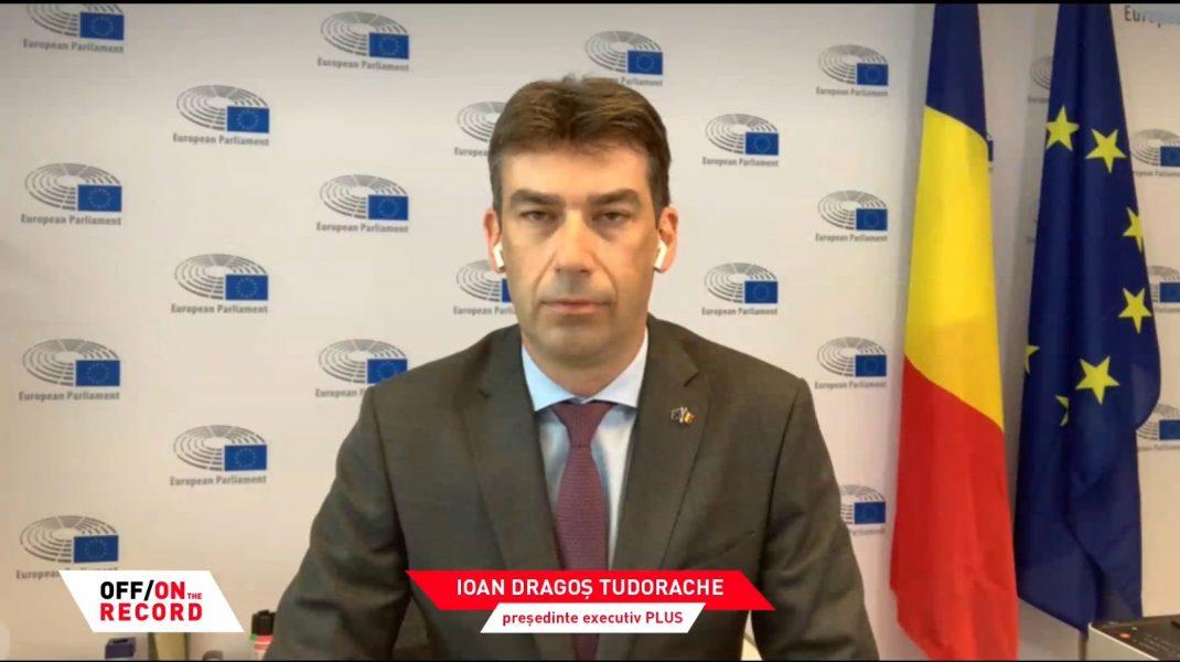 Ioan Dragoș Tudorache la emisiunea Sorinei Matei, OFF/ON THE RECORD, pe Aleph News.