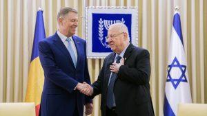 Reuven Rivlin Klaus Iohannis
