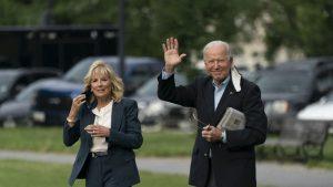 Joe Biden și prima doamnă în Marea Britanie.